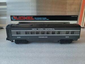 """Lionel 6-16018 O & O27 New York Central """"Chicagoland"""" Coach Passenger Car EX/Box"""