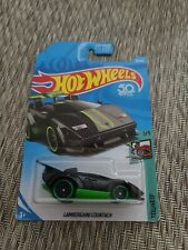 2018 Hot Wheels   Lamborghini Countach  #181/365  [Black & Green] HW Tooned  1/5