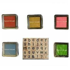 Dovecraft Mini Alphabet Rubber Stamp Set - 30 STAMPS