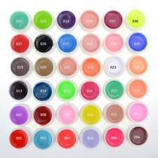 UV Gel Builder Polish Nail Art Tips Manicure Extension 36 Mix Pure Colors Pots