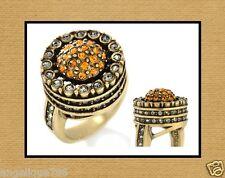 Heidi Daus Endless Beauty Ring SZ 6 SWAROVSKI CRYSTALS SIMPLY SPECTACULAR!!!!
