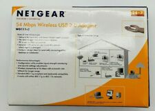 Netgear 54 Mbps Wireless USB 2.0 Adapter WG111 v2 Used