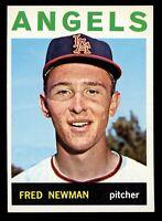 1964 Topps Baseball #569 Fred Newman Los Angeles Angels - SBID004