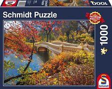 UNE PROMENADE A TRAVERS central parc,New York: Schmidt Premium Puzzle 1000