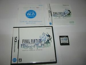 Final Fantasy Crystal Chronicles Echoes of Time Japanese Nintendo DS US Seller