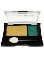 Maybelline DUO EYE SHADOW YELLOW GOLD, TEAL SHIMMER 6D Retro Resort EXPERT WEAR