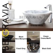 Marble Stone Bathroom Conical Sink Countertop Basin Deep Wash Vanity Vessel Bowl