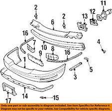 Buick GM OEM 97-99 LeSabre-Bumper Cover 25644983
