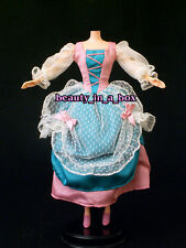 1800's Victorian English Dress Lace Period Piece Fashion for Barbie Doll