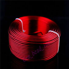 2mm Red Aluminum Wire Jewelery DIY Making Craft Wrap 2 Meter Length