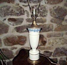 "Wedgwood  Lavender on Cream Color (Plain) 31"" Lamp"