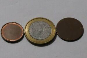 ERROR COINS GERMANY FEDERAL REPUBLIC 3 BLANK DISCS B36 RR12