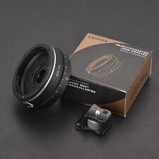 LEINOX EOS-FX Canon EF Mount Lens to Fujifilm X-Pro1 Adapter Adjustable Aperture