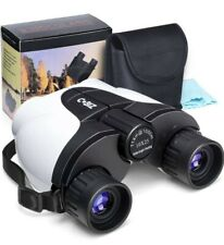 Kids Binoculars 10x25 Outdoor Binoculars Folding Spotting Telescope for camping