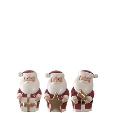 Leonardo Santa Claus/Father Christmas Assorted Ornaments/Figurines Small - 8cm -