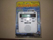 Midland All Hazards Weather Alert Radio WR-100 Warning Channel White
