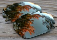Polarized Copper Mirrored Sunglass Lenses for Oakley Jawbone Vented - Grey Tint