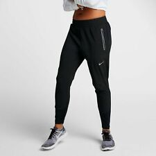 WOMENS NIKE SWIFT RUNNING PANTS 27'' SIZE S (885258 010) BLACK