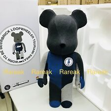 Medicom Be@rbrick 2018 Loopwheeler HF 1000% Flocky Grey Bearbrick 1pc