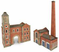 Metcalfe PN184 N Gauge Boiler House & Factory Entrance Card Kit