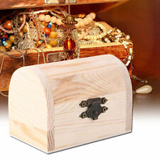 Handiwork Wooden Ingots Jewelry Box Base Art Decor DIY Wood Crafts Collect CC