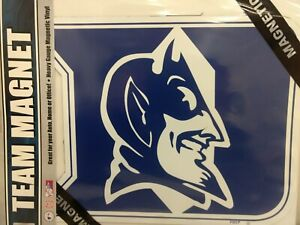 2 Pack NCAA Duke Blue Devils Car Magnet with Mascot Small