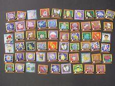 Pokemon 60 ORIGINAL STICKERS ARTBOX 1998-1999 Pikachu Squirtle Charmander