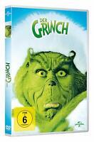DER GRINCH - DVD NEUWARE JIM CARREY,TAYLOR MOMSEN,JEFFREY TAMBOR