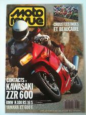 N°2933 MOTO REVUE Kawa ZZR 600/BMW K100 RS 16S/Yam XT