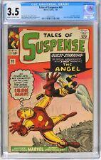 Tales of Suspense #49 (1964) CGC 3.5 KEY 1st X-Men Crossover Lee Kirby Ditko W@W