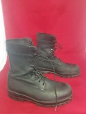 BATES Military Combat Steel Toe Black Boots DuraShocks Vibram Soles Lace Up 11M