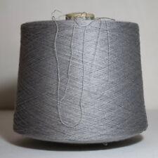 Wolle Garn Silber  Stricken Kone Baumwolle Modal Kashmir 1 kg.   / 85