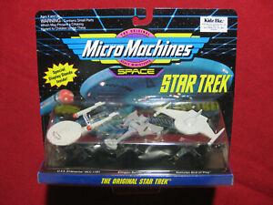 Star Trek Micro Machines Original USS Enterprise Battlecruiser Bird of Prey MOC