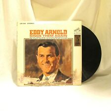 1960 Eddy Arnold Sings Them Again Vinyl LP 33 RCA Victor LSP 2185 Pop