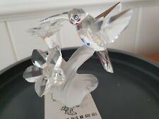 Swarovski Figurine Hummingbird 7 cm Boxed (Retired)