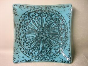 Art glass decorative plate / tableware