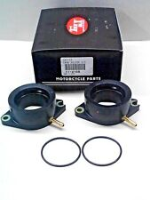 Yamaha Virago XV750 Carburetor Intake Boot Set W/ O-rings K&L 11-4168 Carb Boots