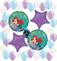 Ariel The Little Mermaid Party Supplies Birthday Balloon Decoration Bundle