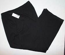 Kim Rogers True Black Pants 3X Short NWT Womens New Casual