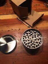 Sharpstone Triple Chamber Medium Grinder Black Colored