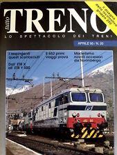 Tutto Treno n°20 - Ultimi servizi Locomotive D 341 -Loco 290 Gr. FS   [G99A]