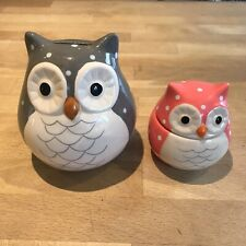 Owl Money Box and owl keep safe