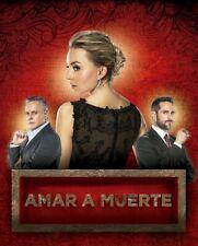 AMAR A MUERTE,15 DVDS,TELESERIE MEXICANA 2018