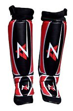 Az Shin Instep Pads Mma Leg Foot Guards Muay Thai Kick Boxing/Neoprene Back-1485