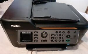 KODAK ESP OFFICE 2170 ALL IN ONE PRINTER PARTLY TESTED LIGHT COMES ON.