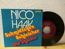 """Nico Haak - Schmidtchen Schleicher / Die Ukulele 7"""" Single Amiga 4 56 196"""