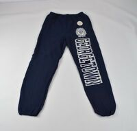 Vintage 90s New Champion Mens XL Georgetown University Spell Out Joggers Pants