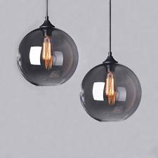 Vintage Modern Industrial Globe Glass Ceiling Lamp Pendant Light Shade Kitchen