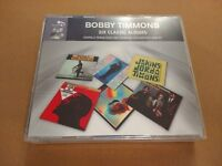 BOBBY TIMMONS * SIX CLASSIC ALBUMS * VERY RARE REMASTERED 4 X CD BOXSET MINT
