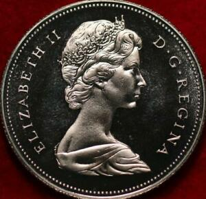 Uncirculated Proof 1975 Canada 50 Cents Clad Foreign Coin